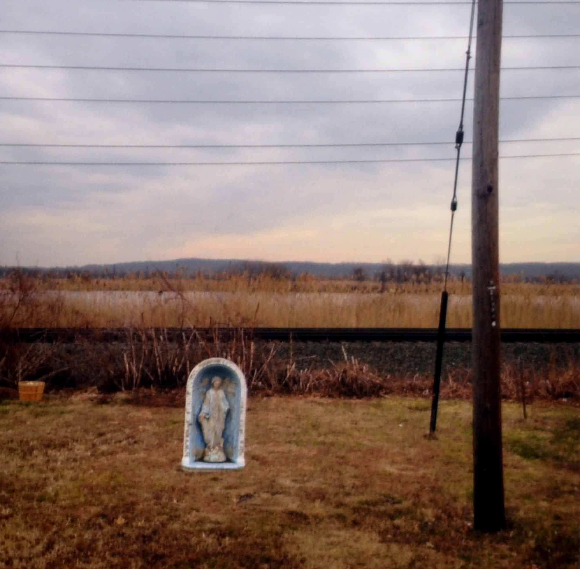 "David Coon, Bathtub Mary, 2015. Photography, 8 x 10""."