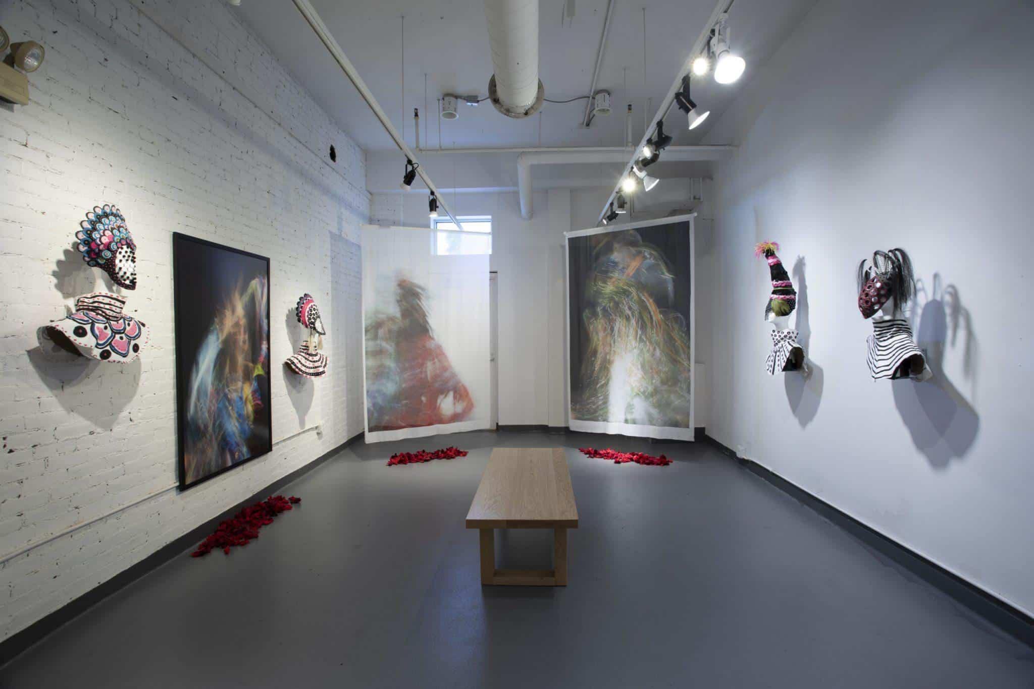 installation view Seven Spans, 2019. Photo credit Jessica Smolinski.