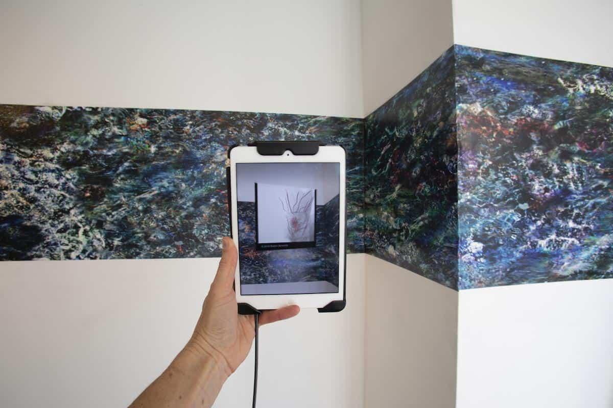 "Cynthia Beth Rubin, installation view ""Do Plankton Have Feelings?"", 2020. Photo credit Jessica Smolinski."