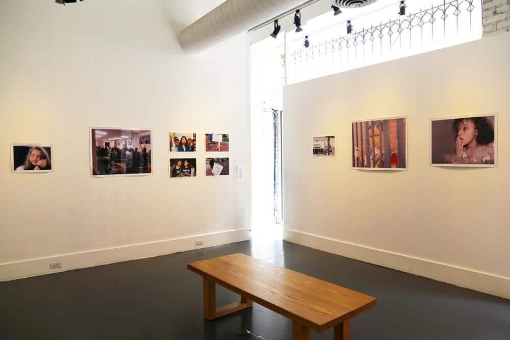 "installation view ""Masturbatory Delusion"", 2017."