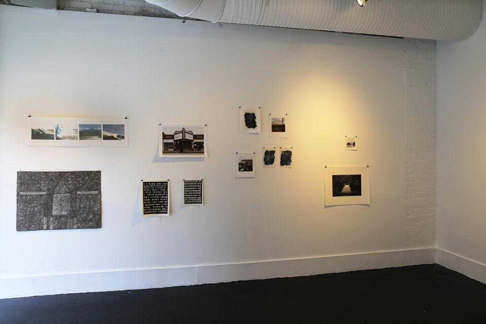 "installation view ""No Language, No Streets"", 2017."