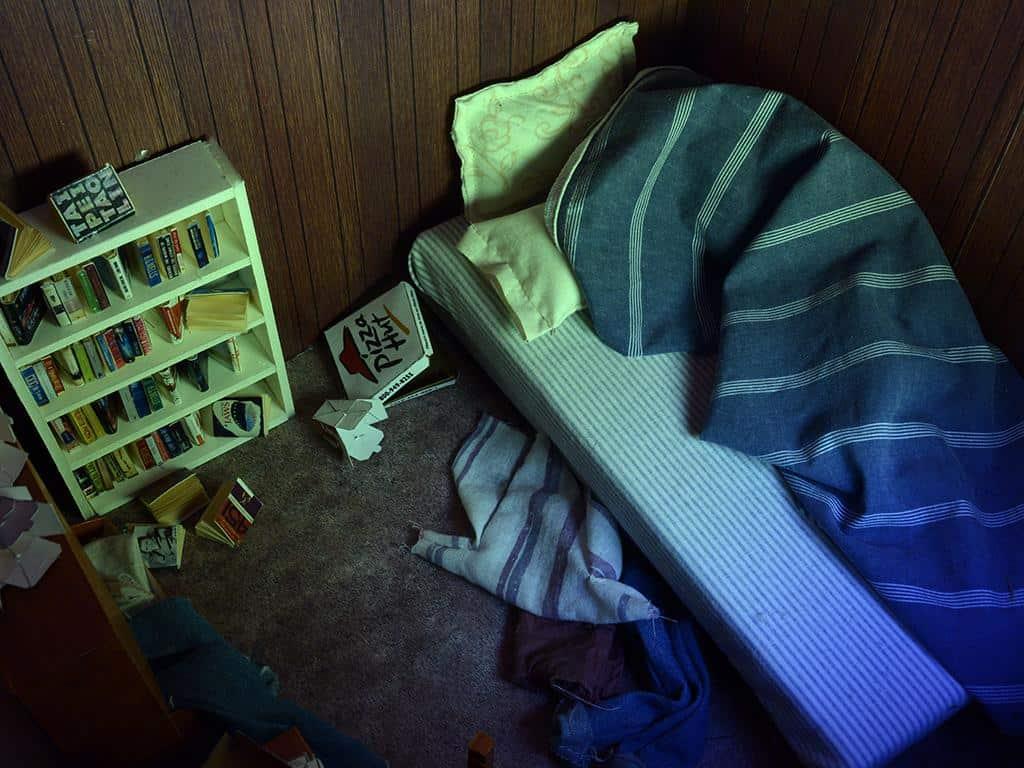 Cayla Lockwood, Bedroom, 2017.